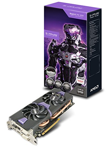 Sapphire Radeon R9 285 2GB GDDR5 DL-DVI-I/DL-DVI-D/HDMI/ DP Dual-X OC Version PCI-Express Graphics Card 11235-03-20G