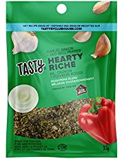 Tasty by Club House, Quality Natural Herbs & Spices, Seasoning Blend, Hearty, 33g