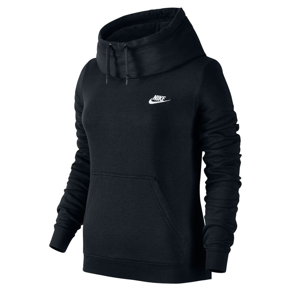 website for discount low priced outlet on sale Amazon.com: Nike Women's Sportswear Funnel Neck Hoodie: Clothing