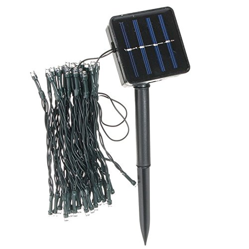 Outdoor Solar Powered 5.2M 50 LED Fairy String Light Yard Garden Path Chirstmas Lamp byRisa Synchronized Christmas Light Show Kit