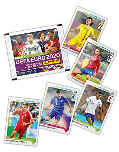PANINI ROAD TO UEFA EURO 2020 STICKER STARTER PACK EURO 2020 ALBUM STICKER PACKS Stickers, albums, pakjes Verzamelkaarten, ruilkaarten