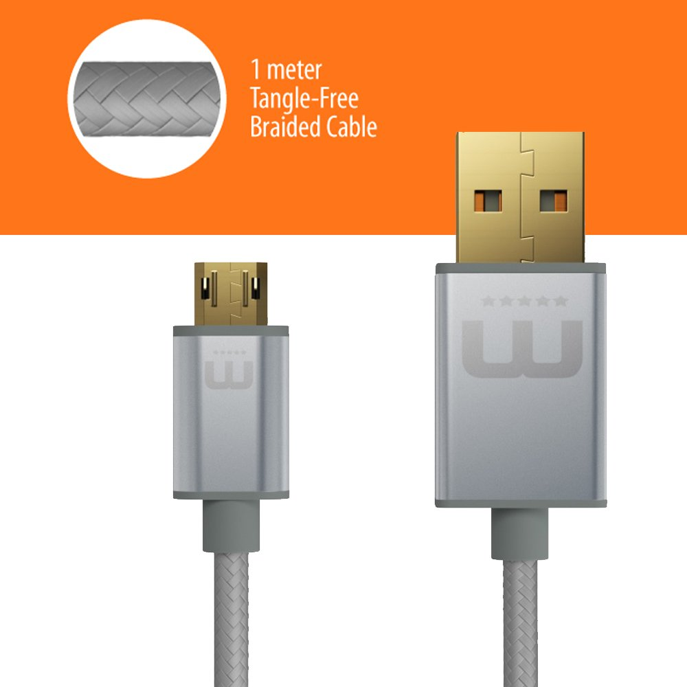 MicFlip WinnerGear Reversible Micro USB Cable Kabel: Amazon.de ...