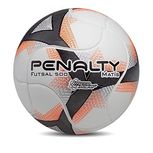 Bola Futsal Matis 500 Term Viii Penalty, Laranja, 64cm