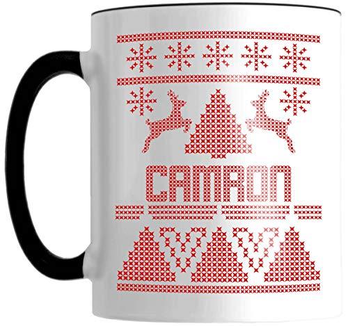 CAMRON Ugly Sweater Graphic 11 OZ Mug