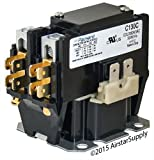 Universal Packard Aftermarket Replacement Contactor - 30 Amp , 1 Pole , 240 Volt Coil