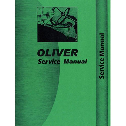 Service Manual - OL-S-1550 1555 Oliver 1555 1555 1550 1550 -  All States Ag Parts
