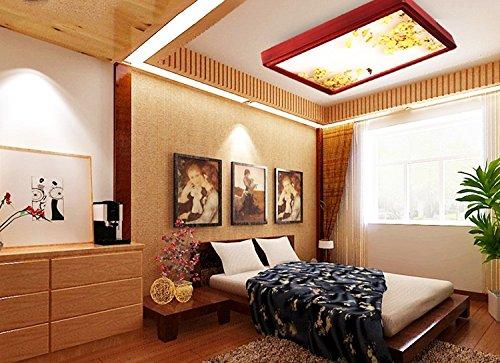 Moda faretti da soffitto wxp soffitto in legno rettangolare nuova