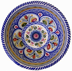 Ceramic Serving Bowl from Spain  sc 1 st  Amazon.com & Amazon.com | Ceramic Serving Bowl from Spain: Spanish Serving Bowl ...