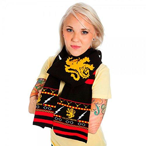 Knit Gryffindor Scarf - 4