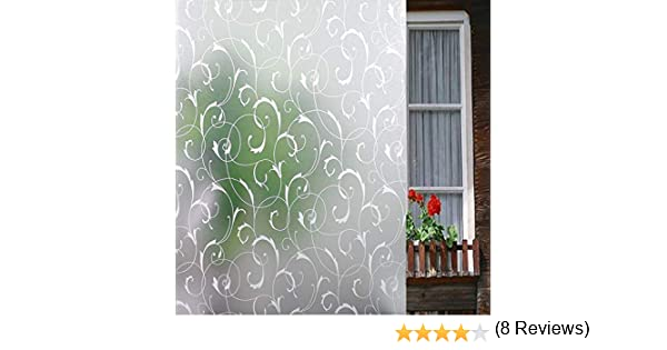LEMON CLOUD No Pegamento Ventana Película Estática Frosted Window ...