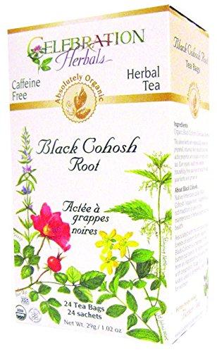 Black Cohosh Root Tea Bag - Celebration Herbals Black Cohosh Organic Root Tea Bags