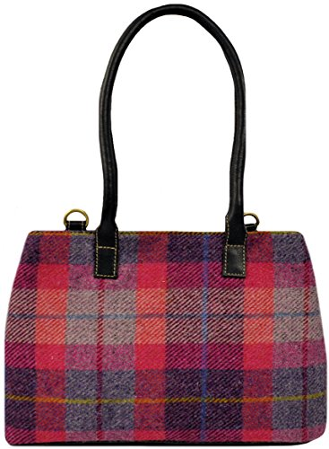 Harris By of Tweed 5 Harris the Pink Bag Isle Direct Colours Heather from Harriswear Available A088 rrSqg