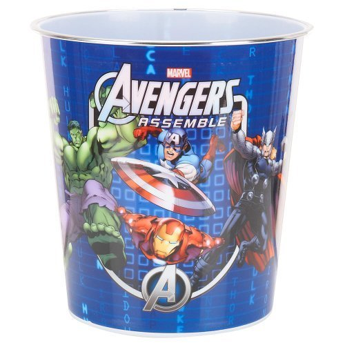 Marvel Avengers Assemble Resin Character Wastebasket,