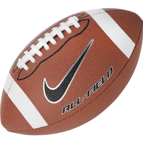 Nike Unisex All-Field Brown/White College Half-Stripe/Black/Platinum Youth (Nike College Football compare prices)