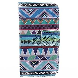 Barclay Domett Samsung Galaxy S Duos S7562 Funda Carcasa Case Funda De Cuero Con Funcion Atril, Funda Billetera Con Tapa Para Tarjetas ,Flip Piel Carcasa Para Samsung Galaxy S Duos S7562(Azul-Verde Color)