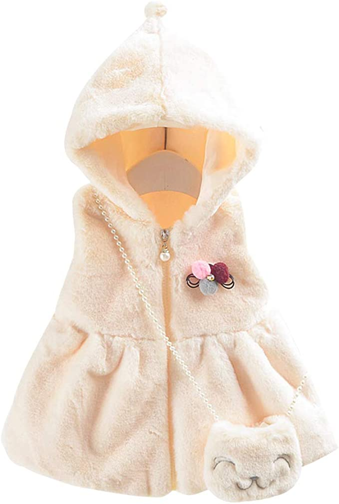 Kids Cotton Cute Coats Thick Jacket KINDOYO Baby Hooded Outerwear