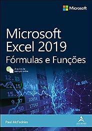 Microsoft Excel 2019: Fórmulas e Funções