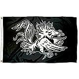 Cheap South Carolina Gamecocks Black Flag