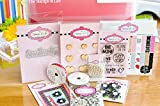 Valentines Day Card Making Kit by The Stamps of Life - 12+ DIY Cards