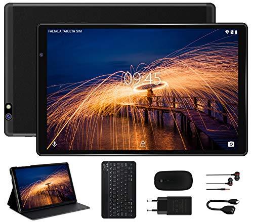 🥇 Tablet 10 Pulgadas FACETEL Q3 Android 9.0 4GB de RAM y 64 GB de ROM