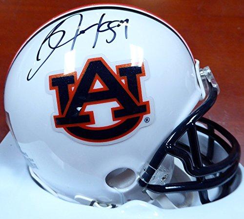 Bo Jackson Autographed Auburn Tigers Mini Helmet Beckett BAS Autographed Auburn Mini Helmet