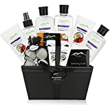 Premium Deluxe Bath & Body Gift Baskets. 18 PC Large Spa Basket for Birthday Gifts Holiday Gift etc....