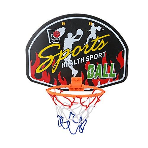 Meolin Universal Wall Mounting Basketball Hoop Set Basketball Rim Mounting Bracket Ball and Pump,356-1,8.0710.6in