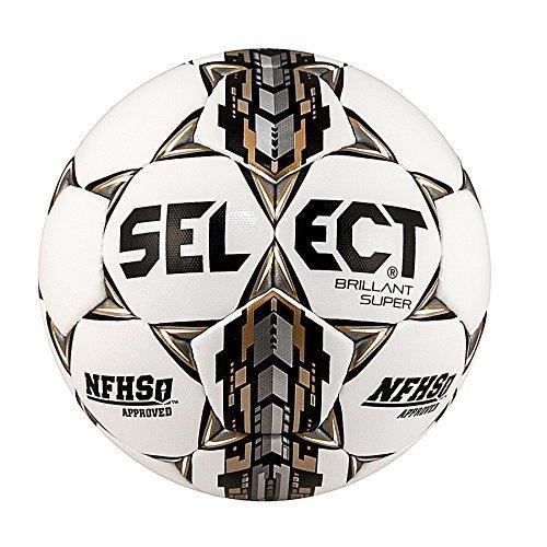 Select Sport America Brillant Super Nfhs Soccer Ball White Size 5 [並行輸入品] B0784H65M4