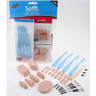 Colorfin 44-Piece PanPastel Soft Tools Combination Set