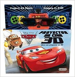 Cars 2. Libro con proyector de cine 3D: Libro con proyector en 3D ...