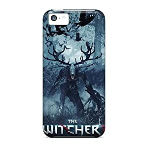 New Style 6Plus Hard Case Cover For Iphone 5c- The Witcher 3 Wild Hunt Game Kimberly Kurzendoerfer