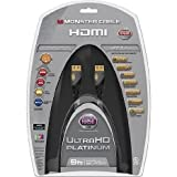 Monster- UltraHD Platinum Series 9 HDMI Cable- Black