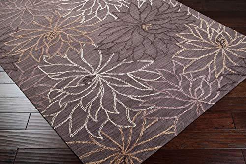 Surya AME-2211 Ameila Hand Tufted Transitional Rug, 2-Feet by 3-Feet, Mushroom