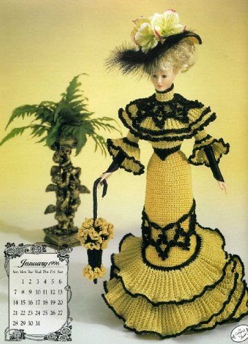 (Miss January 1996 Going Away Frock (Annie's Calendar Bed Doll Society, 7901))