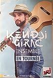 Kendji Girac - Ensemble - En tournée - 40x60cm AFFICHE / POSTER