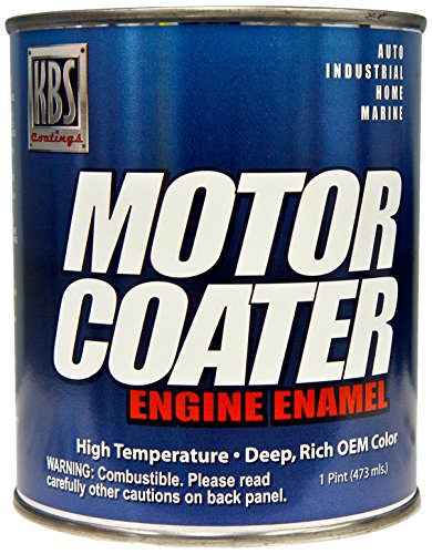 KBS Coatings 60308 Street Hemi Orange Motor Coater Engine Paint - 1 -