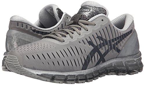 ASICS GEL-Quantum 360-M Men's Running Shoe, Light Grey/Dark Grey/Silver, 8.5 US