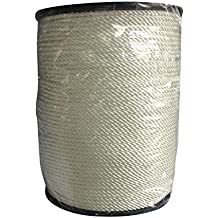182m/600Ft Professional Twisted Braid Thick High Strength Anchor Mooring Rope Nylon Dockline White
