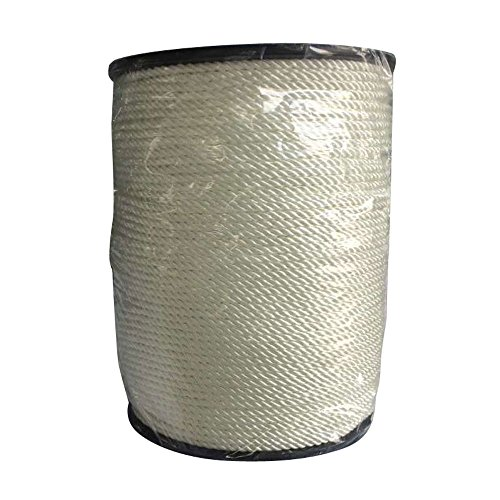 "Anchor Line -1/2"" x 600′ Professional Thick High Strength Mooring Rope White"