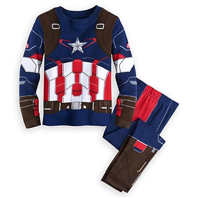 c97c3ce3d2330 Amazon.com: SgaSong Spiderman Pajamas, Super Hero Cotton Kids ...