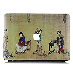 Pakistani Floral Ornament Frosted Case For Apple Macbook Air 13 And 13.3 Inches Scratch Water Proof