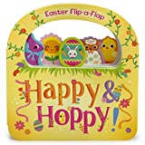 img - for Happy & Hoppy: Easter Basket Lift-a-Flap Board Book (Flip a Flap) book / textbook / text book