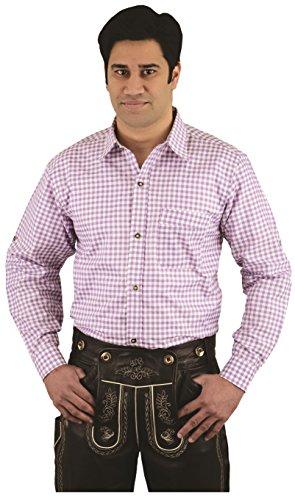 Herren Trachtenhemd kariert, in 4 Farbe