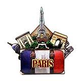 Effiel Tower Magnet 4 Inch 3D Paris Magnet and
