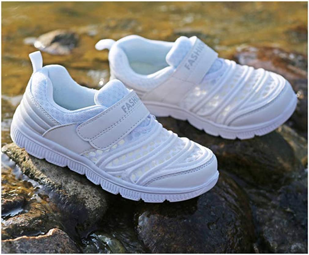White-EU 27//10 M US Toddler Super explosion Girls Boys Sneakers Ultra Lightweight Kids Running Shoes Breathable Hiking Shoes