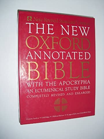 The New Oxford Annotated Bible with the Apocrypha, New Revised Standard Version (Oxford Annotated Bible Apocrypha)
