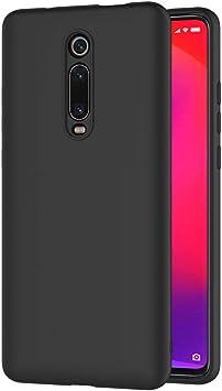 AICEK Funda Compatible Xiaomi Mi 9T, Negro Silicona Fundas ...