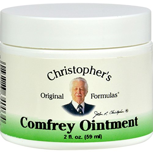 Christophers Comfrey Ointment (Dr. Christophers Formula Comfrey Ointment - 2 oz (Pack of 2))