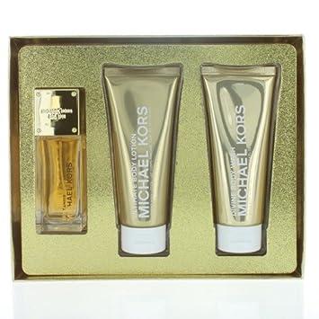Michael Kors SEXY AMBER Gift Set 50ml Eau De Parfum EDP, 100ml ...