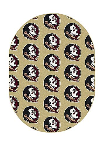 Ambient Rugs NCAA My Team College Repeating Rug Florida State - 12'x18' ()